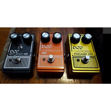 Custom DOD Pedal Lot Compressor 280 Preamp 250 Bifet Boost