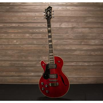 Custom Hagstrom Swede F Left-Handed Transparent Cherry