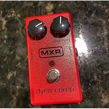 Custom MXR Dyna Comp M102 2014 (RED)
