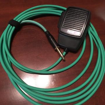 Custom Audio By Clarence CB Mic 2017 Black/Green