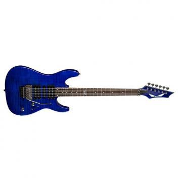 Custom Dean Custom 380 Floyd Electric Guitar Trans Amberburst
