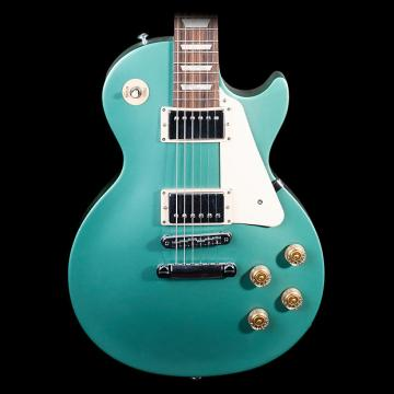 Custom Gibson Les Paul Studio 2016 T Electric Guitar, Inverness Green - Pre-Owned in Excellent Condition