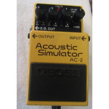 Custom Boss AC-2 Acoustic Simulator Pedal