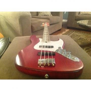 Custom Bacchus WL-JB ASH4R L-RED/OIL Hand Crafted in Japan Bass MINT!! + HS Case!!