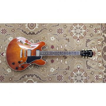 Custom Eastman T386 Thinline Archtop Electric Guitar with Hardshell Case and Professional Setup!