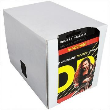 Custom 12 Sets DR Strings Dimebag Darrell HI-VOLTAGE Electric Guitar Strings 9-42