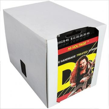 Custom 12 Sets DR Strings Dimebag Darrell HI-VOLTAGE Electric Guitar Strings 9-46