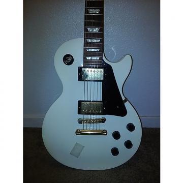 Custom Gibson Les Paul Studio Deluxe 2012 Aged Vintage White Over 2-Tone Sunburst