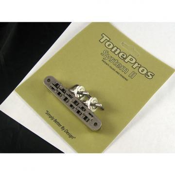 Custom Tone Pros TP6 US Locking Tunematic 4mm Small Posts Nickel TP6-N