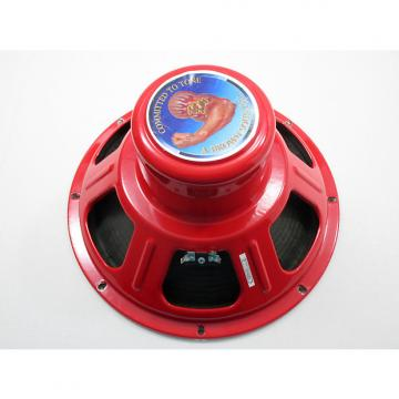 "Custom Tone Tubby  AlNiCo Red 12"" 8 Ohm H1E Hemp Cone"