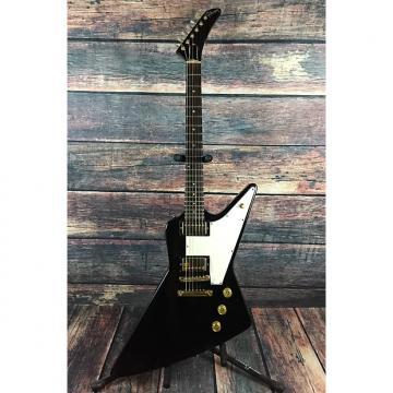 "Custom Gibson Explorer ""Korina"" Heritage Series Limited Edition  1983 Ebony with Gibson Case"