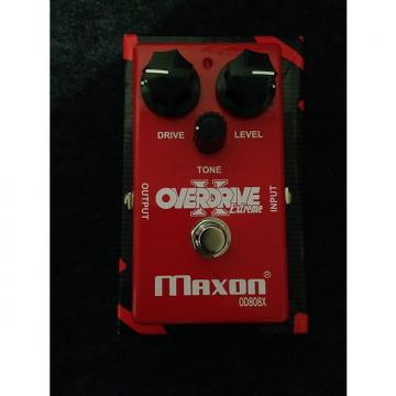 Custom Maxon OD 808X overdrive pedal