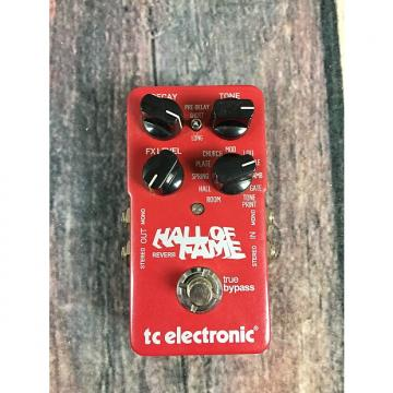 Custom TC Electronic Hall of Fame Reverb Red with original box