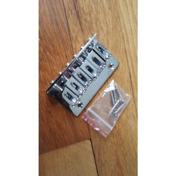 Custom Fender Stratocaster-style Chrome Tailpiece Hardtail Free Shipping