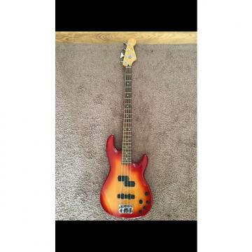 Custom Fender Deluxe Zone Bass 2002 2 Color Sunburst