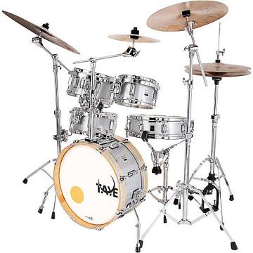 Custom New Taye Drums GoKit GK518F-SS Drum Set In Silver Sparkle Finish With Hardware Pack G