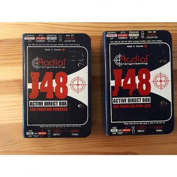 Custom PAIR #1 of Radial J48 Active DI