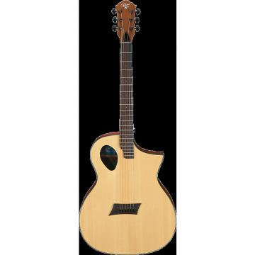 Custom Michael Kelly Forte Port Natural acoustic electric guitar - Port sound hole