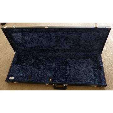 Custom Fender '69 Reissue Black Tolex Case - Rare Black & Blue! Metal Logo!