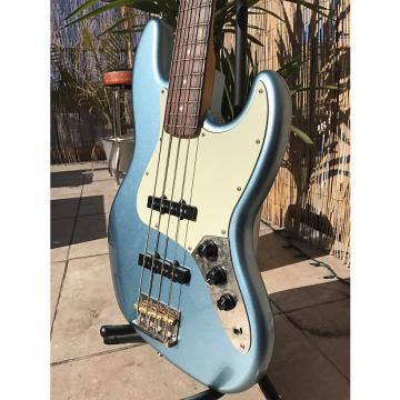 Custom Squier James Johnston Jazz Bass 2013 Lake placid blue