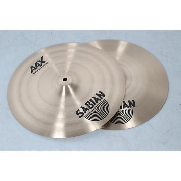 """Custom SABIAN 14"""" AAX Metal Hi-Hats  Heavy Top/Extra Heavy Bottom"""