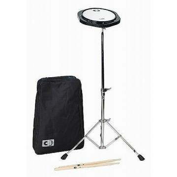 Custom CB700 Model 3650 Practice Pad Kit with Sticks, Stand and Bag