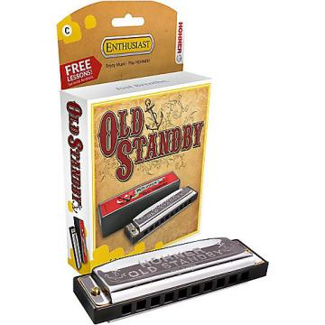 "Custom Hohner ""OLD STANDBY"" 34B HARMONICA KEY of G"