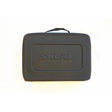 Custom Shure Padded Microphone Carrying Case - Holds SM57, Beta 52A & Other Mics - Mint Condition