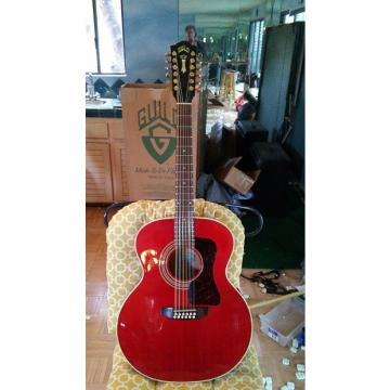 Custom Guild JF30-12E, Westerly R.I. Gold, Capture the Eyes with this Red Rocker! I'm taking Offers