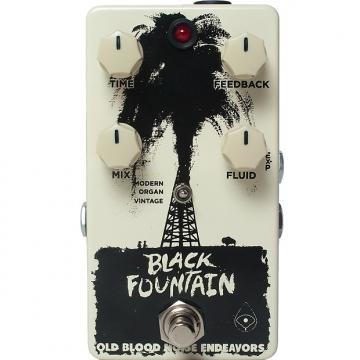 Custom Old Blood Noise Endeavors Black Fountain Delay