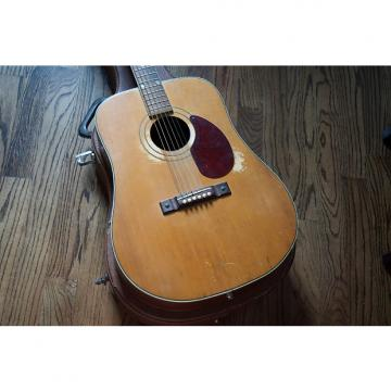 Custom Kay Country N2 1950s Natural Dreadnought Acoustic w/ Pickup and Case