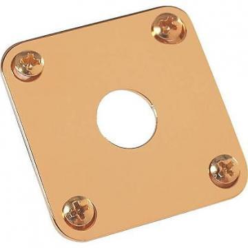 Custom Gibson Gold Jack Plate