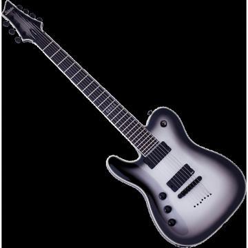 Custom Schecter Chris Garza PT-7 Left-Handed Electric Guitar Silverburst