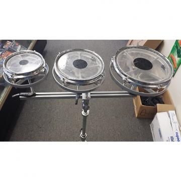 "Custom Remo Percussion Rototoms Roto-Toms Tom-Tom Drums - 6"" 8"" and 10"""