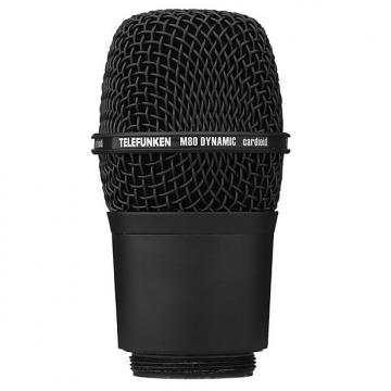 Custom Telefunken M80-WH Elektroaukustik Wireless Vocal Microphone Capsule Head Black
