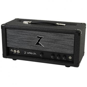 Custom Dr. Z Z-Wreck Head - Half Power Switch - Black w/ ZW Grill