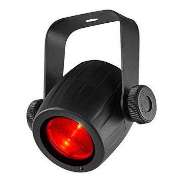 Custom CHAUVET DJ LED Pinspot 3 Compact LED Spotlight W/5 Color Gels