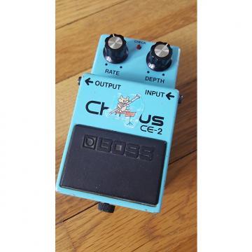 Custom Boss CE-2 Chorus Late 80s MIJ Green Label Free Shipping