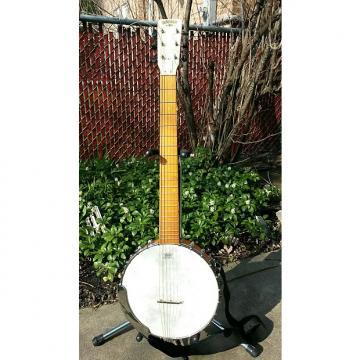 Custom Gretsch Dixie 6 String Banjo 2000's Natural