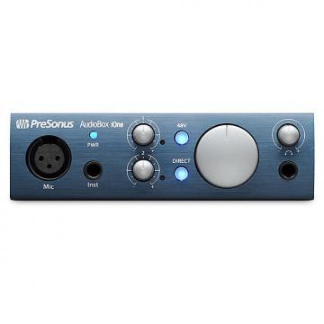 Custom Presonus - AudioBox iOne 2x2 USB/iPad Recording System