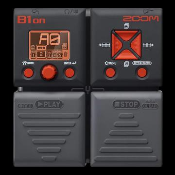 Custom Zoom B1on Bass Effects Pedal - Repack with 6 Month Alto Music Warranty!