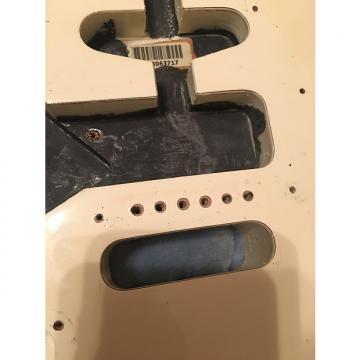 Custom Fender  MIM lefty stratocaster 2012 Olimpic white