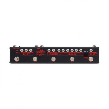 Custom Valeton VES-3 Dapper Dark Effects Strip w/ Tuner Boost Chorus Delay FX Loop