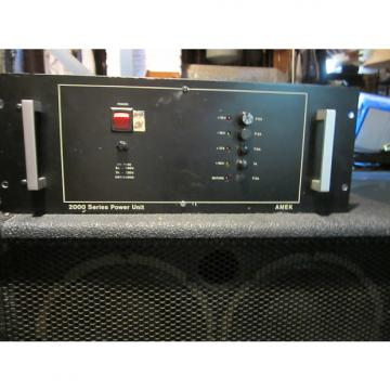 Custom AMEK 2000 Series Power Supply 1984 Black