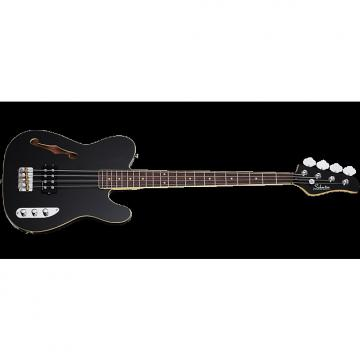 Custom Schecter Baron-H Vintage Electric Bass Gloss Black