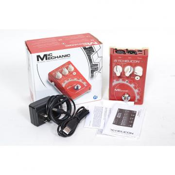 Custom TC Helicon Voicetone Mic Mechanic Multi-Effects Guitar Effect Pedal Excellent In Box