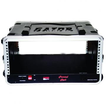 Custom Gator GRR8PL 8 Space Powered Lockable Rolling Rack