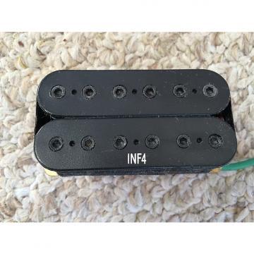 Custom Ibanez Dimarzio INF4 Humbucker Bridge Guitar Pickup PU-8138 2000's Black 16.45K Resistance