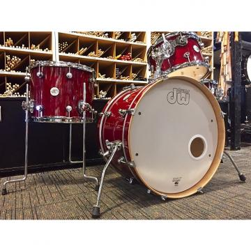 Custom DW Frequent Flyer Cherry Stain Lacquer