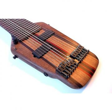 Custom Megatar 12-string touch guitar with crossed Chapman Stick tuning
